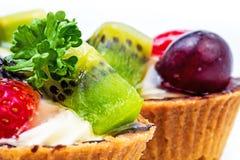 Mini tarte de fruit Images libres de droits