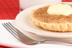 Mini tarte de noix avec le mascarpone Image libre de droits