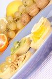 Mini tartes assorties de fruit Image stock