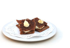Mini tartines-russes Royalty-vrije Stock Foto