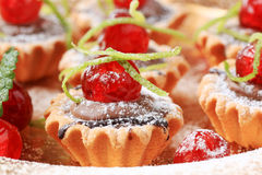 Mini tartlets Royalty Free Stock Photography