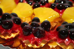 Mini tarts Stock Photo