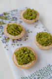 Mini tarts Stock Image