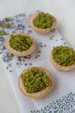 Mini tarts Stock Images