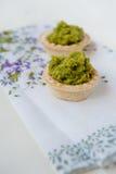 Mini tarts Royalty Free Stock Images