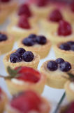 Mini tarts Stock Photos