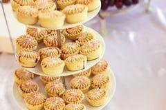 Mini tarts Stock Image
