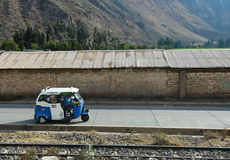Mini taxi in rural Peru Stock Photography