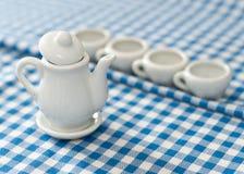 Mini Tea Kettle Royalty Free Stock Images