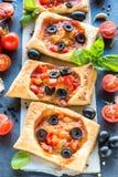 Mini tempo da pizza imagens de stock