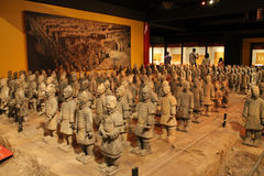 Mini terracotta army Stock Photos