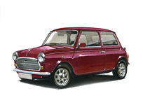 Mini 30th Special Edition. Illustration of a Mini 30th Anniversary Special Edition Stock Image