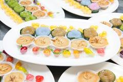 Mini Thai Food And Dessert fotos de stock royalty free