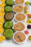Mini Thai Food And Dessert fotos de stock