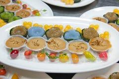 Mini Thai Food And Dessert imagens de stock royalty free