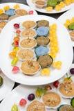 Mini Thai Food And Dessert imagens de stock