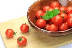 Mini-tomato Stock Photo