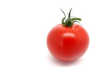 Mini tomato on white background Stock Photos