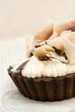 Mini torta de chocolate imágenes de archivo libres de regalías