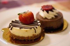 Mini tortas Imagen de archivo libre de regalías