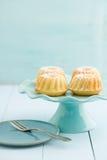Mini tortas del bundt Foto de archivo