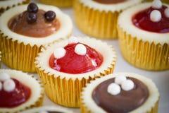 Mini tortas del queso imagen de archivo libre de regalías