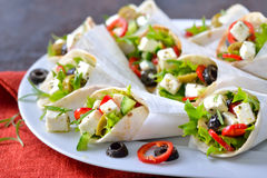 Mini tortillas Stock Images