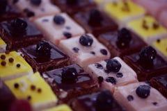 Mini torty zdjęcie stock