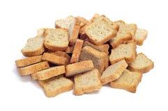 Mini tostadas Fotos de archivo