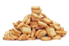 Mini tostadas Imagen de archivo