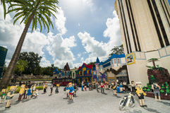 Mini Town Legoland Royalty Free Stock Image