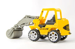 Mini toy construction vehicle Stock Images