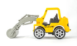 Mini toy construction vehicle Royalty Free Stock Photos