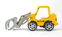 Mini toy construction vehicle Royalty Free Stock Images
