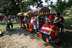 Mini train Royalty Free Stock Image