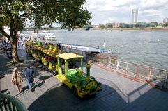 Mini Train - sightseeing tour in Cologne Stock Photography