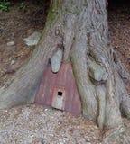 A Mini Tree Root House Stock Photos
