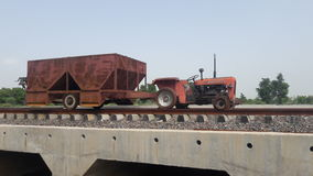 Mini trem india relway de Jugad Imagem de Stock