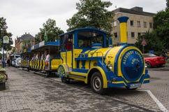 Mini-tren Fotografía de archivo libre de regalías