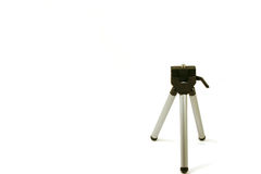 Mini Tripod. On a white background Stock Photos