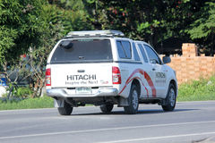 Mini truck of Hitachi thailand Royalty Free Stock Photo