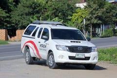 Mini truck of Hitachi thailand Royalty Free Stock Images