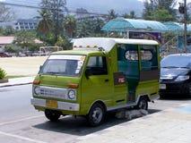 Mini Truck Tuk tuk taxi Phuket Royalty Free Stock Photo
