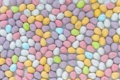 Mini uova di Pasqua del chcocolate Fotografie Stock
