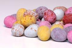Mini uova di Pasqua del cioccolato Immagine Stock Libera da Diritti