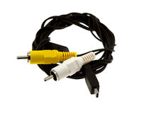 Mini USB cable Royalty Free Stock Photography