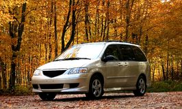 Mini Van Stock Photography