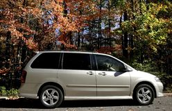 Mini Van Stock Image
