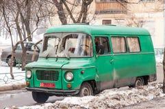 Mini Van anziano Fotografia Stock Libera da Diritti