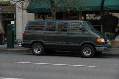 Mini van Stock Image